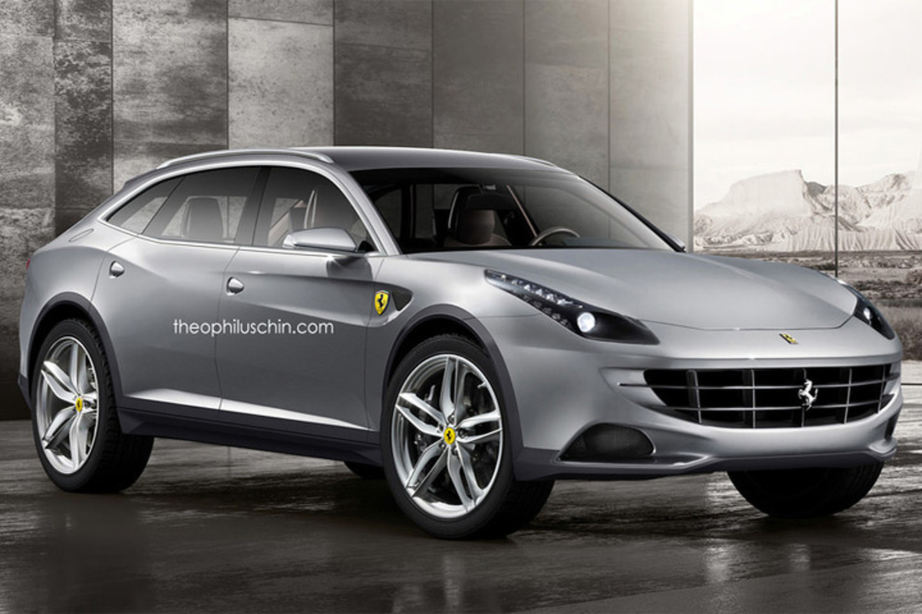 Marchionne confirms Ferrari SUV