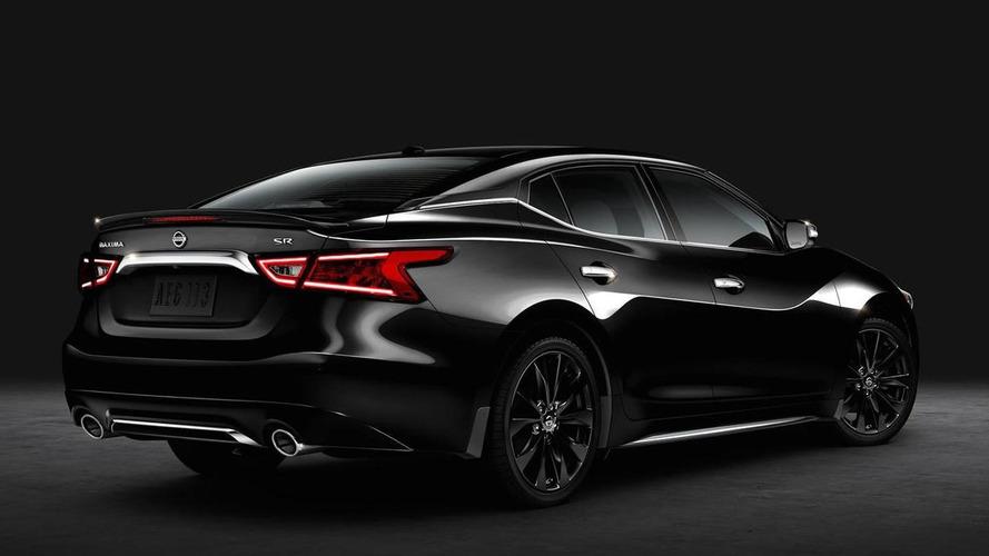 2016 Nissan Maxima SR Midnight announced with dark theme