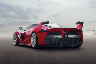The 1,035HP, Track-Only LaFerrari FXX K Has Arrived