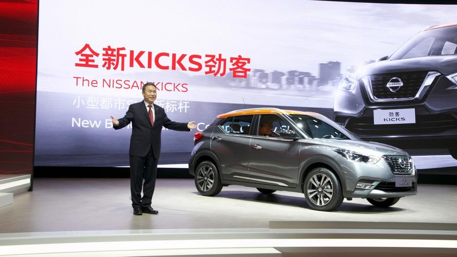 Nissan apresenta Kicks e nova Frontier no Salão de Xangai