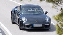 Porsche 911 Turbo 992 Spy Photos