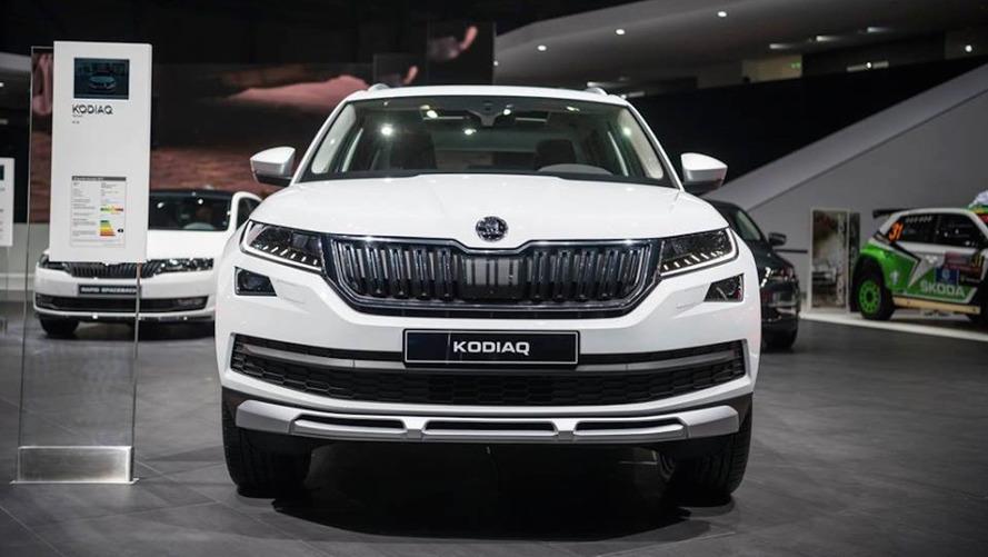 Škoda Kodiaq Scout 2017