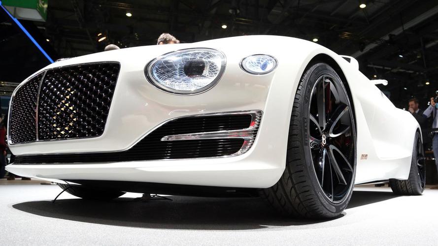 Bentley songerait à une berline coupé électrique