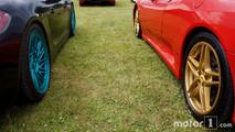 Porsche 911 and Ferrari at 2017 Goodwood Festival of Speed