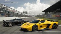 Fittipaldi EF7 Vision Gran Turismo in Gran Turismo