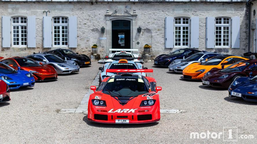 El Tour de McLaren recorre las carreteras francesas