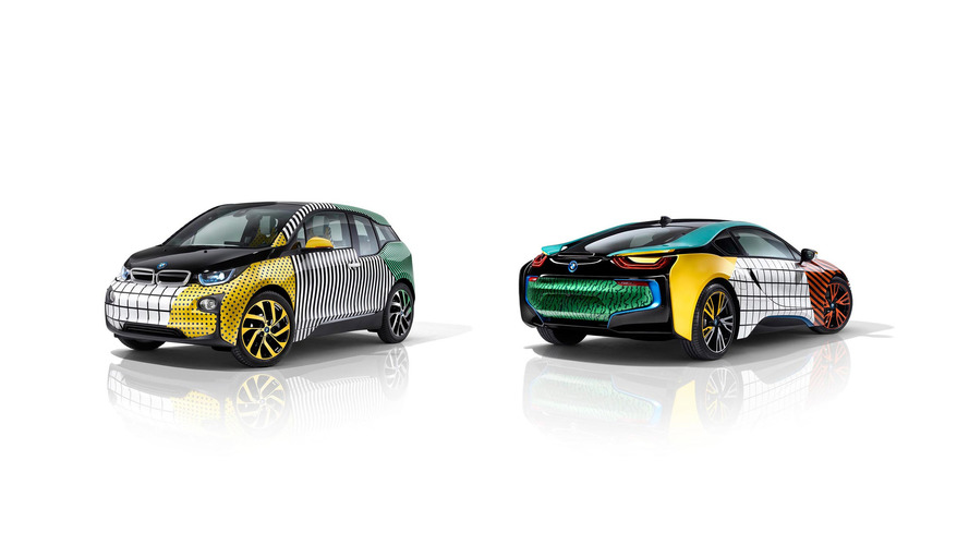 BMW i3 and i8 MemphisStyle