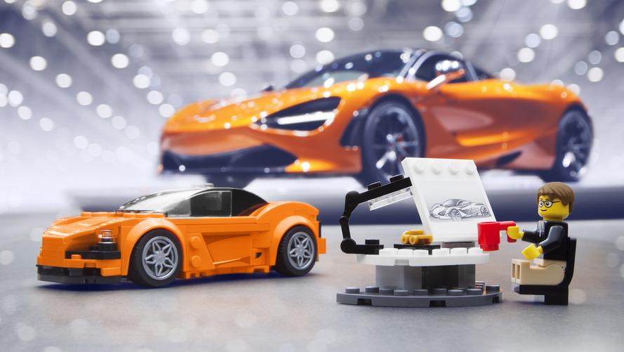 Lego McLaren 720S kiti nefis görünüyor