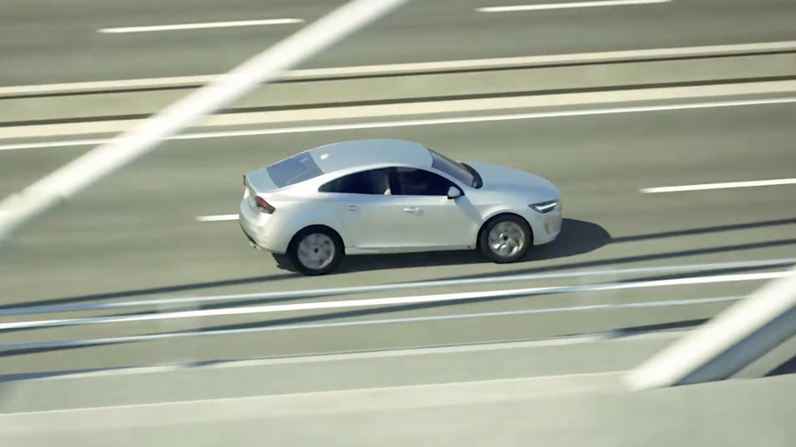 New Volvo S40 compact sedan emerges in safety videos?