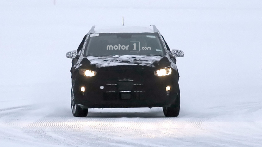 2018 Kia Stonic spy photos
