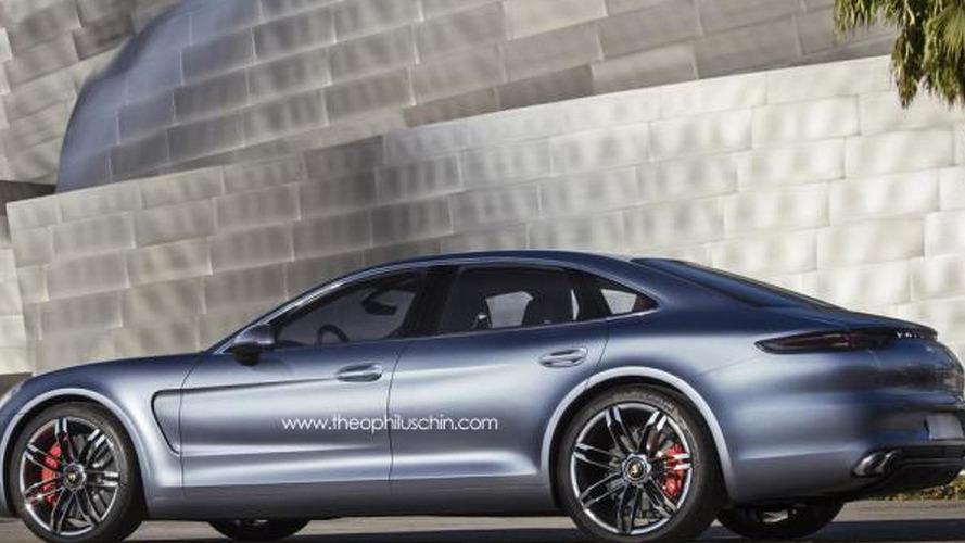 2016 Porsche Panamera gets rendered