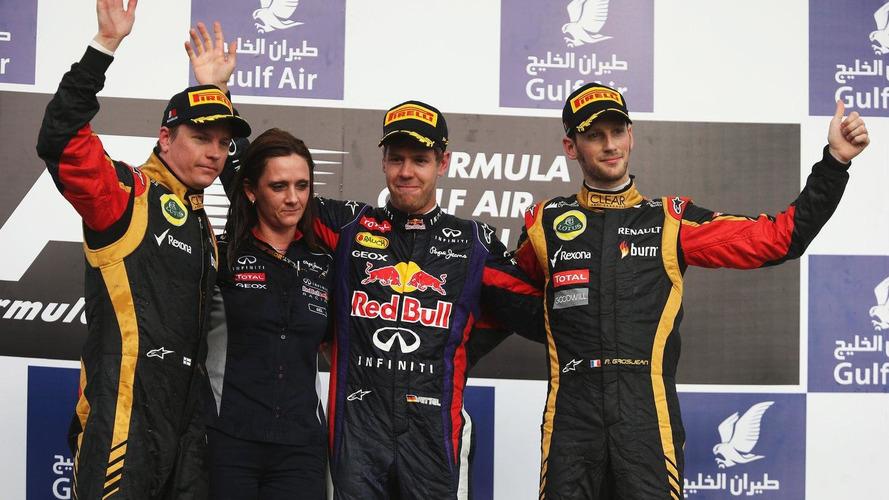 2013 Bahrain Grand Prix - RESULTS