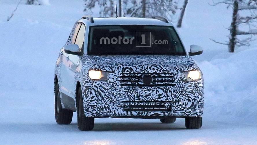 Volkswagen T-Cross 2018, fotos espía