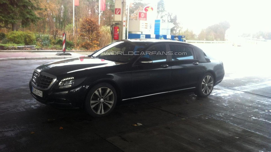 Mercedes-Benz S600 Maybach heading to Guangzhou Motor Show in November - report