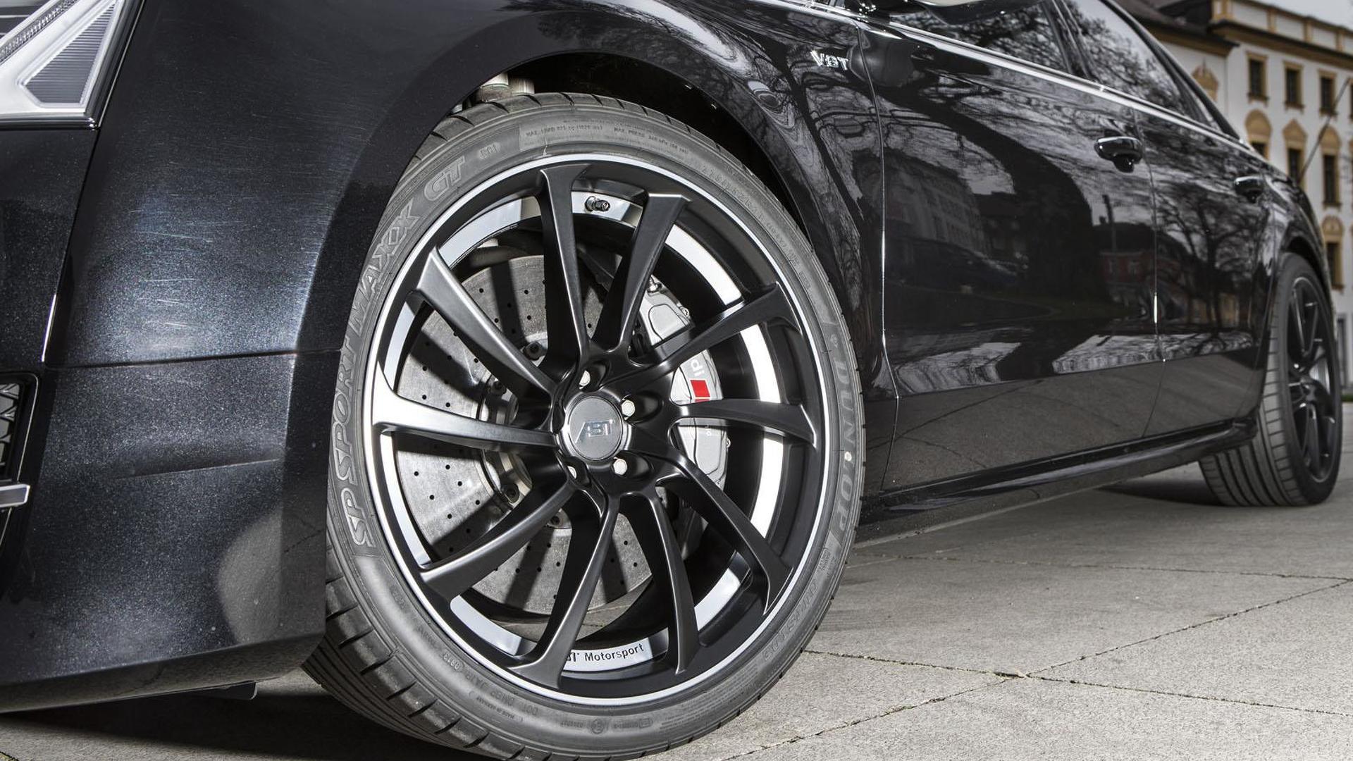 Многоспицевые колёса Audi S8 от ABT Sportsline