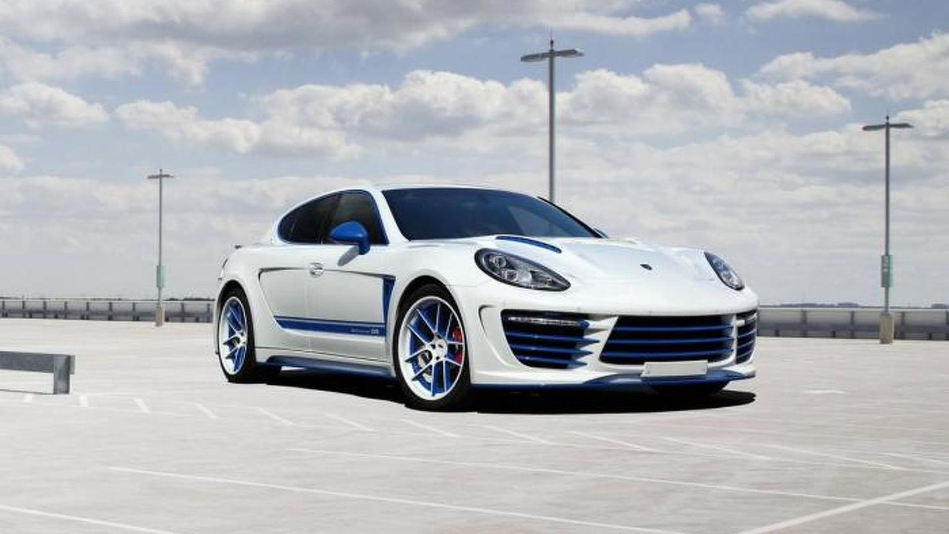 Тюнинг Porsche Panamera Stingray GTR Blue от TopCar