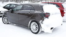 2016 Mercedes A-Class facelift spy photo
