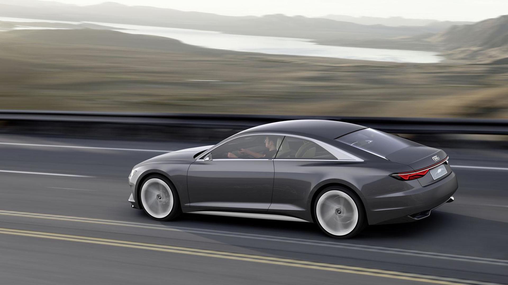 Audi с автопилотом из Prologue