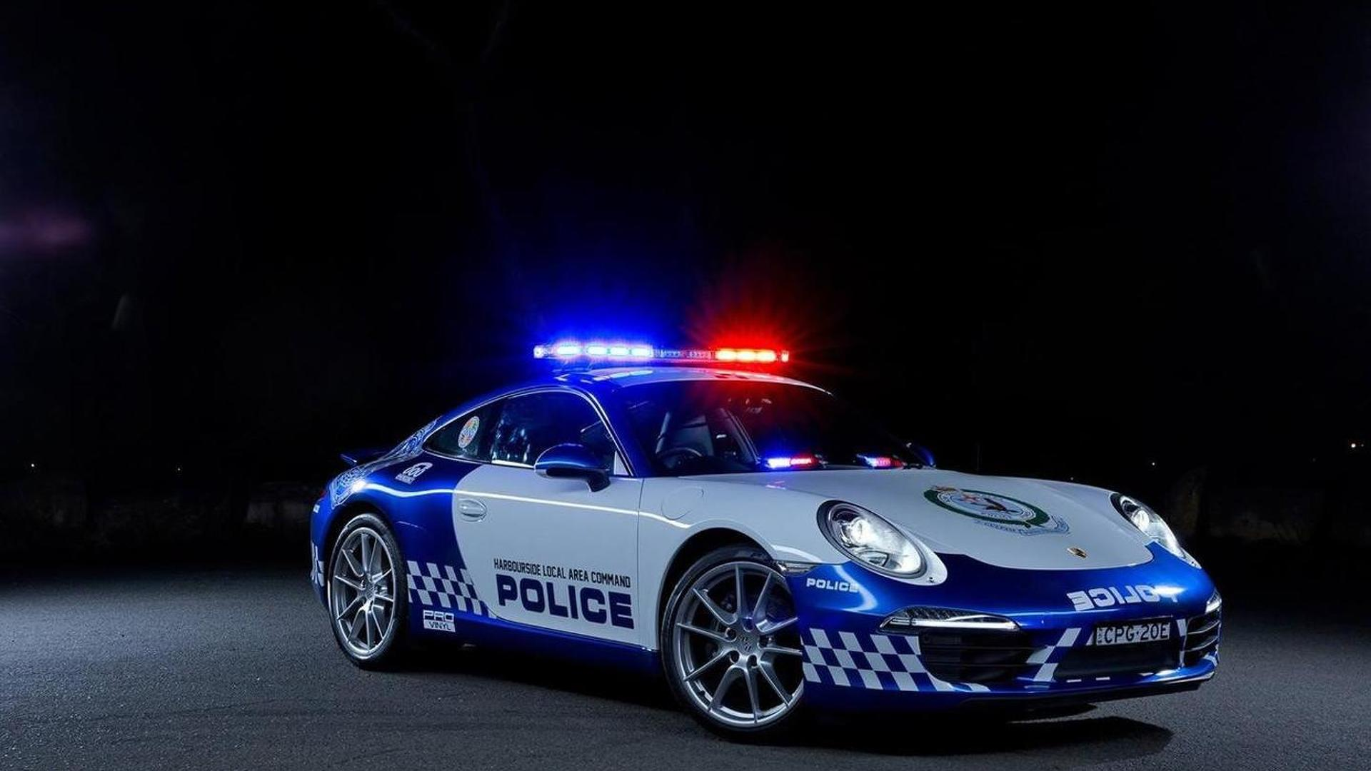 Porsche 911 Carrera для полиции Австралии