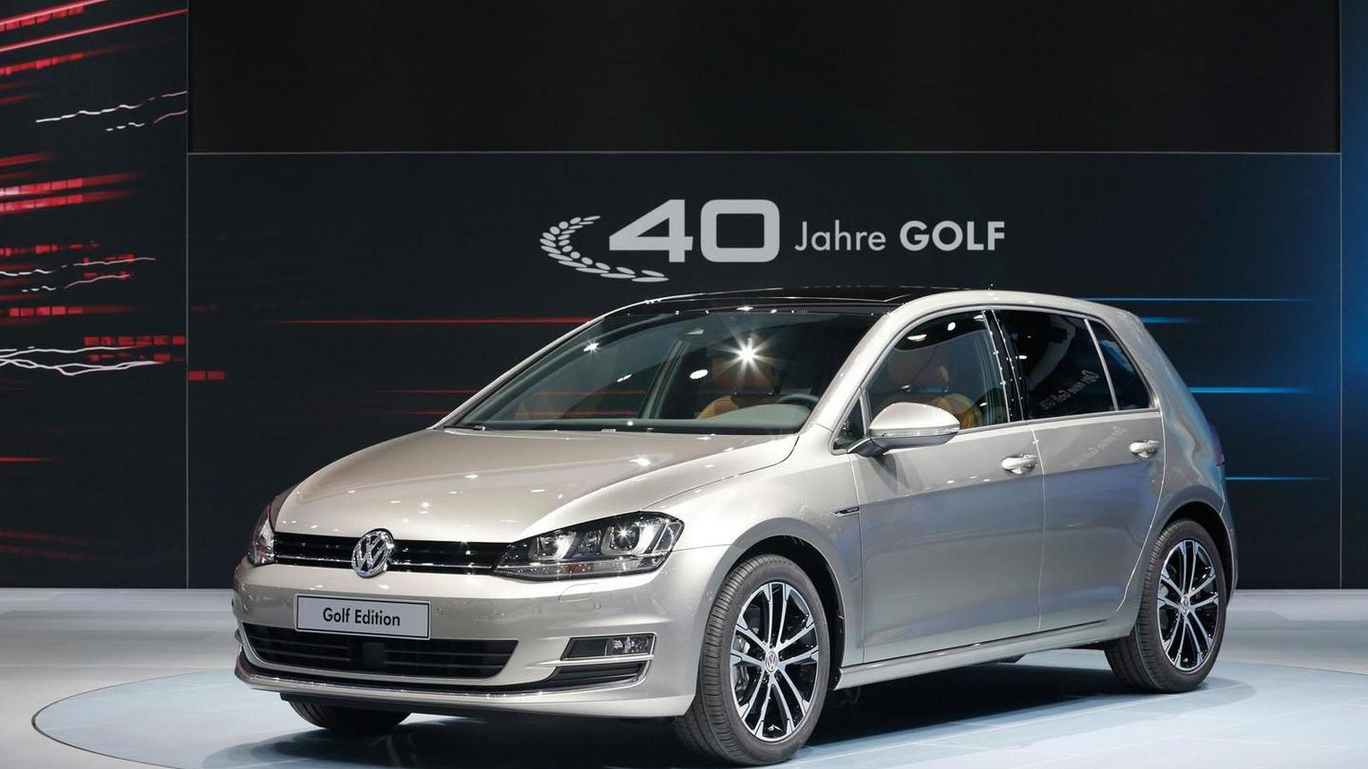 Юбилейный Volkswagen Golf Edition в честь 40-летия