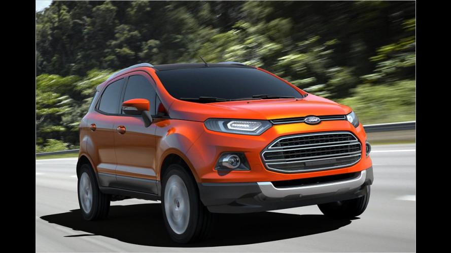 Neues Mini-SUV auf Fiesta-Basis
