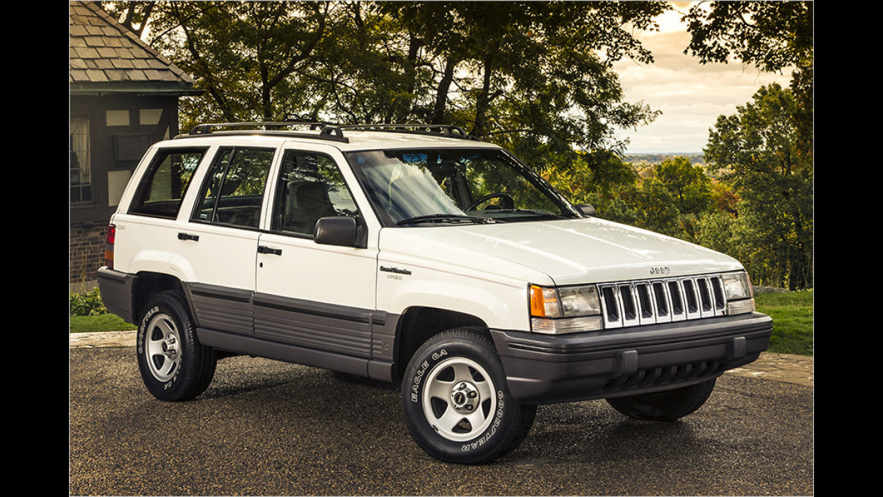 Jeep Grand Cherokee (ZJ/WJ): 1993-2004