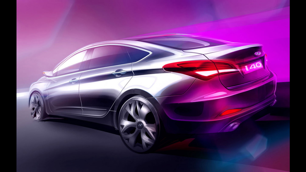 Hyundai i40 berlina. Teaser