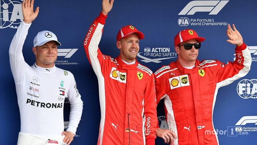 2018 F1 German GP: Vettel Beats Bottas To Pole, Drama For Hamilton