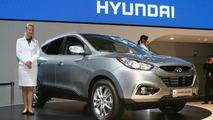 Hyundai ix35 at 2009 Frankfurt Auto Show