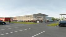 Citroen new brand identity dealership sketches