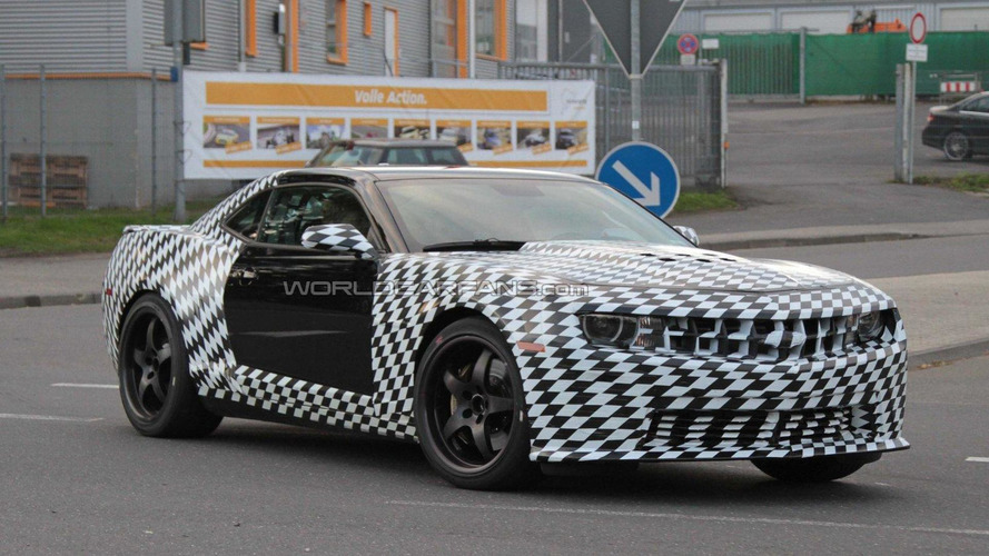 2012 Chevrolet Camaro Z28 Production confirmed for 1 January 2012