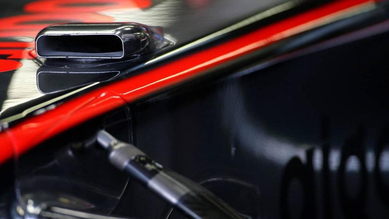 McLaren Mercedes F-duct detail, Canadian Grand Prix, 11.06.2010 Montreal, Canada