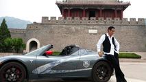 2010 TAG Heuer Tesla Roadster in Beijing 29.09.2010