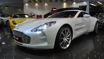 Aston Martin One-77 up for sale in Dubai - 6.4.2011