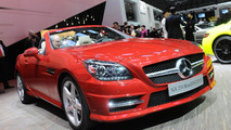 2012 Mercedes-Benz SLK 250 BlueEfficiency live in Geneva - 03.03.2011