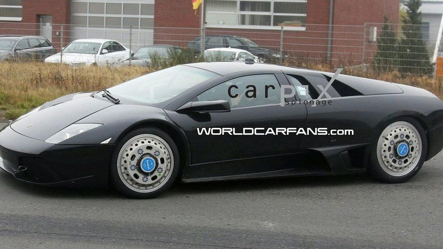 Lamborghini Murcielago Replacement Test Mule First Spy Photos