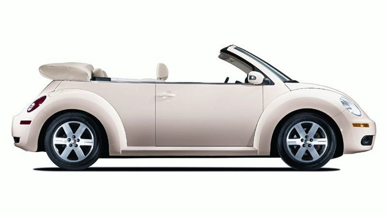2006 VW New Beetle convertible Facelift