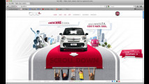 Fiat 500L, il sito