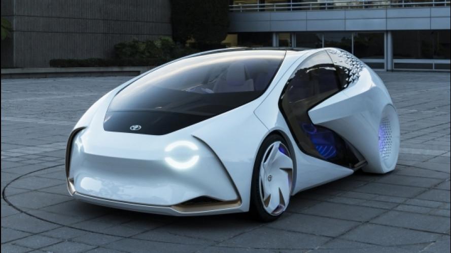 """Toyota Concept-i, l'auto """"amica"""" dell'uomo"""