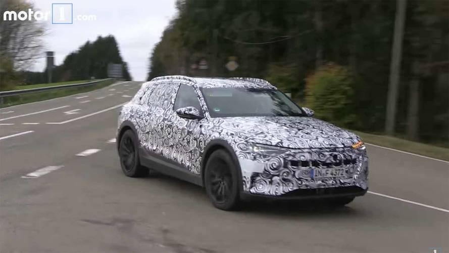 Vidéo - Derniers réglages pour l'Audi e-tron électrique