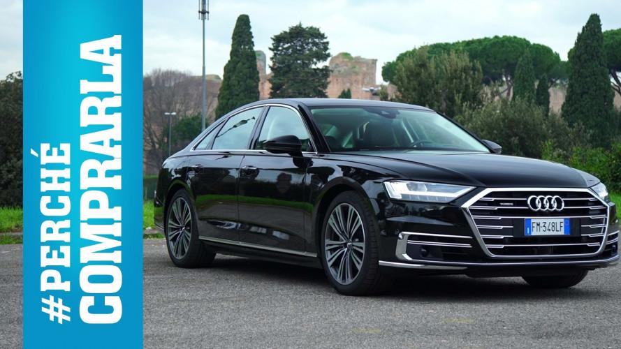 Audi A8, perché comprarla… e perché no