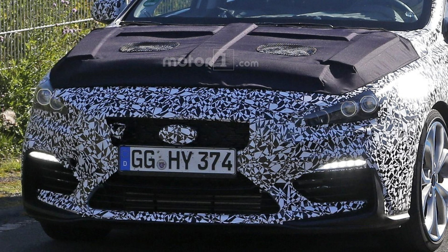 2017 Hyundai i30 N spy photos