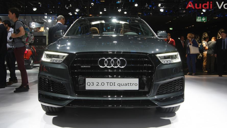 2017 Audi Q3 Paris Otomobil Fuarı