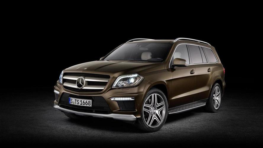 All new 2013 Mercedes-Benz GL-Class official info