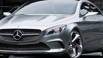 Mercedes Concept Sytle Coupe leak - 18.4.2012