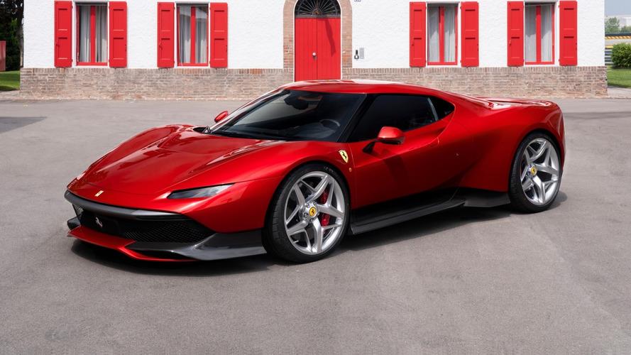 Ferrari SP38, la One-Off ispirata alla mitica F40