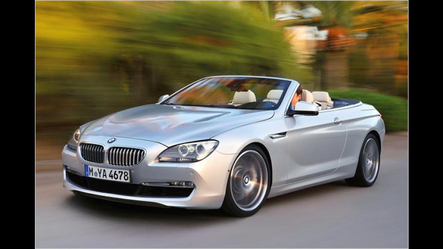 Schöne Aussicht: Das neue BMW 6er Cabrio