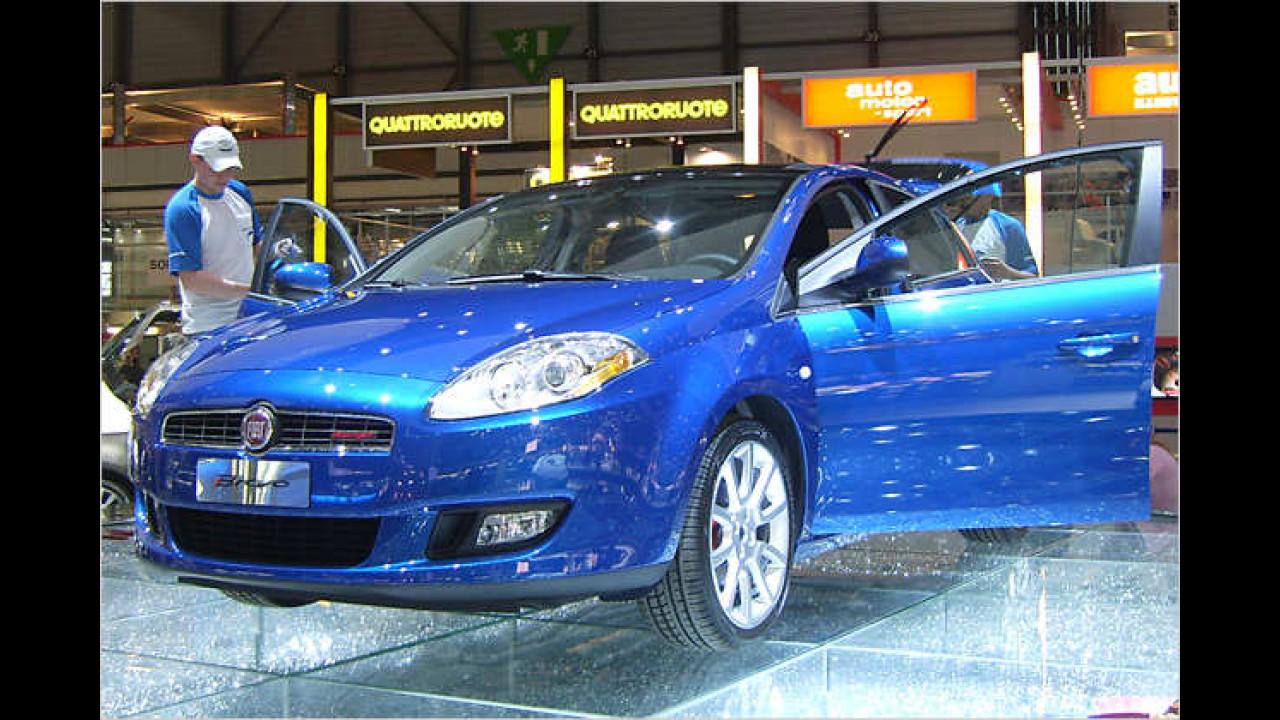 Der kompakte Fiat Bravo tritt gegen die Konkurrenz von Golf, Astra & Co. an