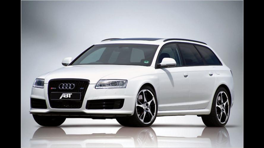 Abt powert den Audi RS6: Beim Super-Kombi geht noch mehr