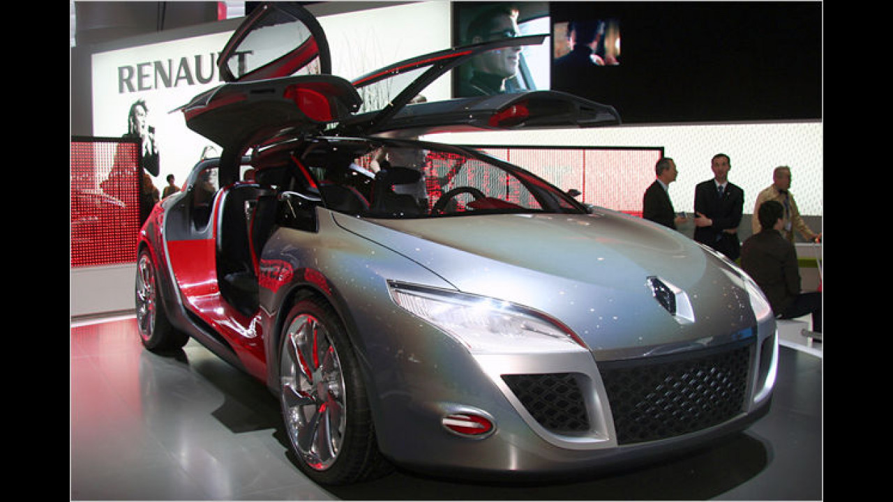 Mit dem Mégane Coupé Concept gewährt Renault einen Ausblick auf die kommende Serienversion eines Kompaktcoupés